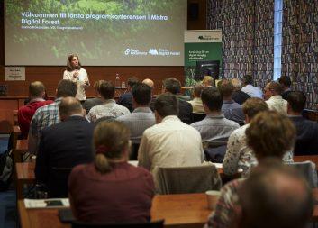 Bilder från första programkonferensen