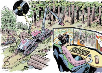 Hur kommer framtidens skogsarbete att utföras – när kommer robotarna?