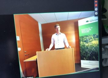 Stort intresse när Mistra Digital Forest höll programintern konferens